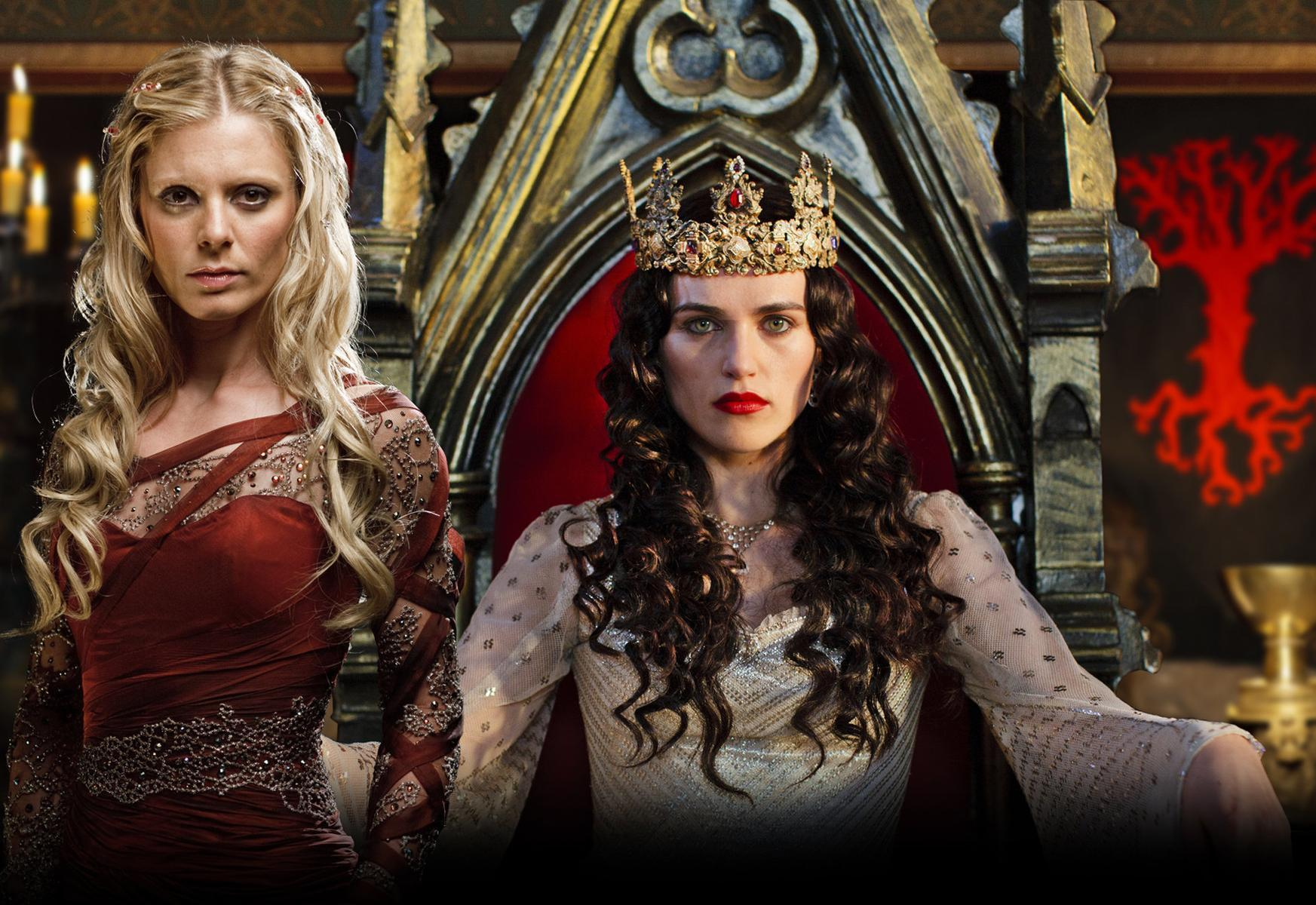 Merlin On Bbc Images Morgause Amp Morgana Hd Wallpaper And