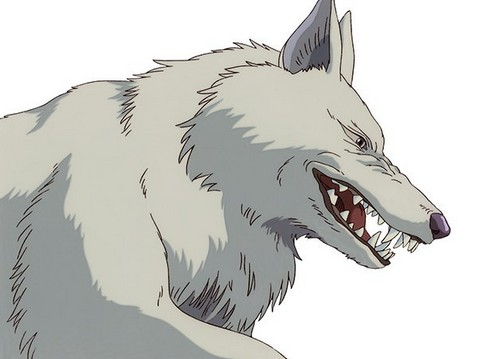 Princess Mononoke wallpaper possibly containing a lippizan called Moro