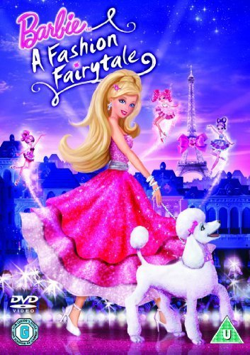 barbie In a Fashion Fairytale! wallpaper probably with a bouquet called Movie Cover