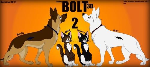 डिज़्नी'स् बोल्ट वॉलपेपर with ऐनीमे titled My Bolt 2!