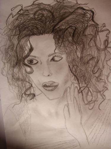 My drawings of Helena! <3