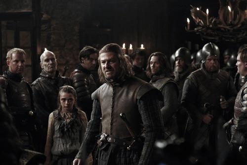 Ned & Arya Stark