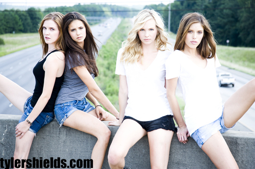Nina, kayla, candice and sara