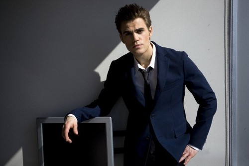 Paul Wesley - DaMan Magazine outtakes