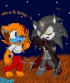 Phantom N Spitz - sonic-halloween fan art