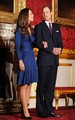 Prince William and Kate Middleton announcing engagement - celebrity-couples photo