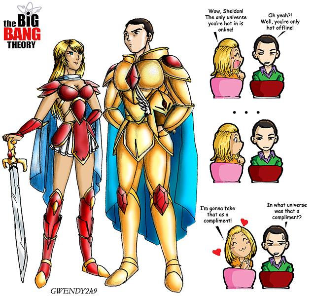 Queen Penelope & Sheldon the Conqueror