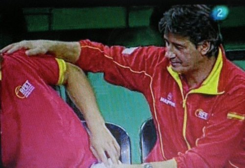 Rafa Nadal striptease