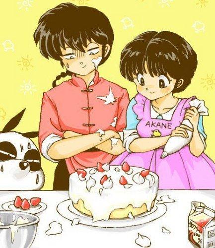 Ranma 1/2 - Cake 4 My Love