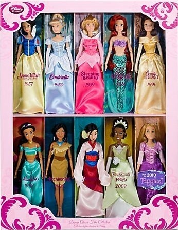 Rapunzel with the other disney Princesses