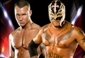 Rey Mysterio and Randy Orton