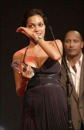 Rosario @ 2004 Black Film Festival Awards