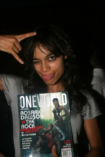 Rosario @ One World Magazine's Bad-Ass Party