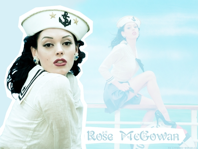 wallpaper rose. Rose McGowan Wallpaper