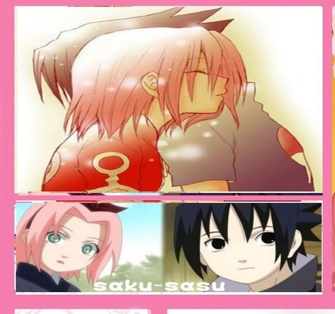 ��� ������ � ������ ���� Sakura-and-Sasuke-ha