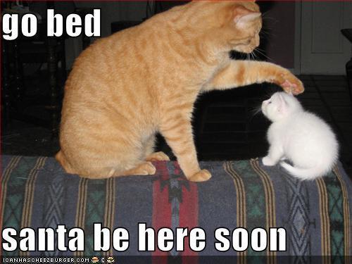 Santa be here soon :)
