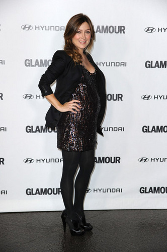 Sasha Alexander wallpaper probably with bare legs, hosiery, and a hip boot called Sasha @ 5th Anniversary Of Glamour Reel Moments