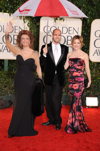 Sasha @ 67th Annual Golden Globe Awards - Arrivals