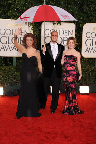 Sasha @ 67th Annual Golden Globe Awards - Arrivals