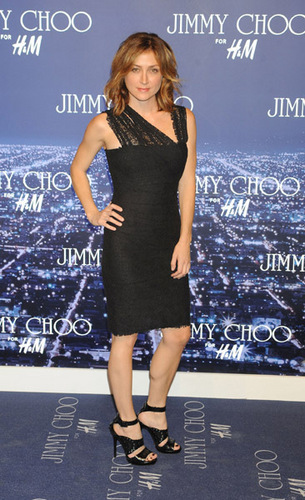 Sasha @ Jimmy Choo For H&M Event