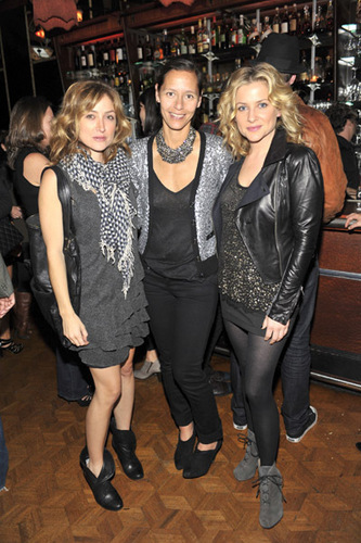 Sasha @ Madewell and Lucky Magazine Denim Party at Bar Marmont