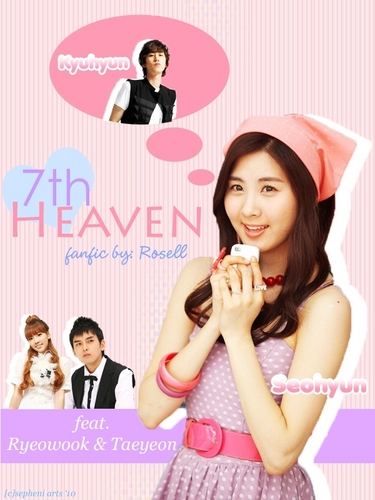 Super Generation: Super Junior & Girls' Generation wallpaper possibly with a parasol and a portrait called SeoKyu (Seohyun & Kyuhyun)