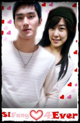 Super Generation: Super Junior & Girls' Generation wallpaper with a portrait called SiFany (Siwon & Tiffany)