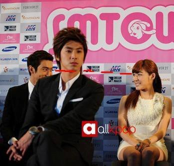 Super Generation: Super Junior & Girls' Generation wallpaper with a business suit called SiFany (Siwon & Tiffany)