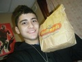 Sizzling Hot Zayn Eating McDonalds In His Bedroom (He Owns My Heart) :) x