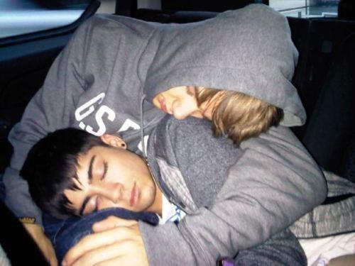 Sizzling Hot Zayn & Goregous Liam Fast Asleep Awww (Best M8s) :) x