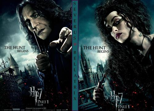 Snape & Bellatrix DH