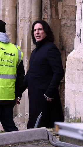 Snape outisde xD