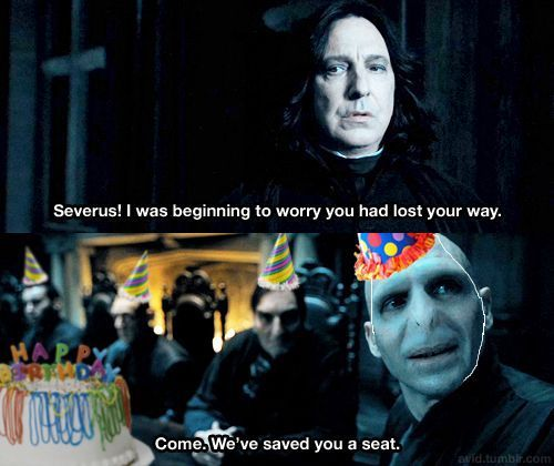 Snape's birthday party