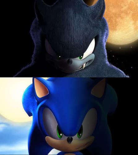 Sonic's half