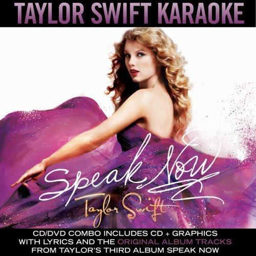 Speak Now (Karaoke) [Official Album Cover]