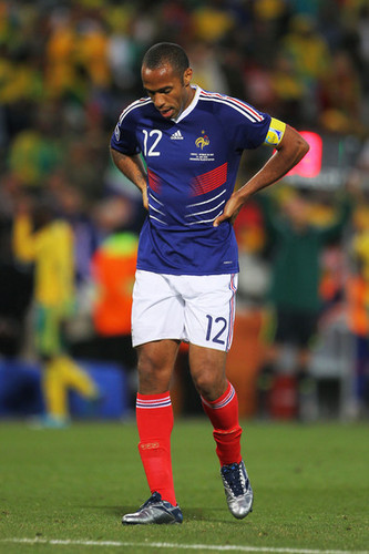 T. Henry playing for France