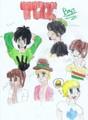 TDI boys - total-drama-island fan art