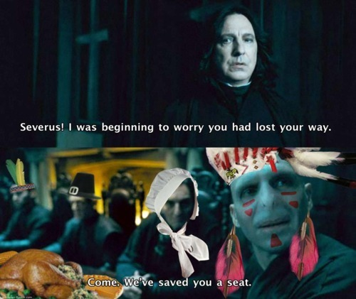Thanksgiving--Voldemort Style