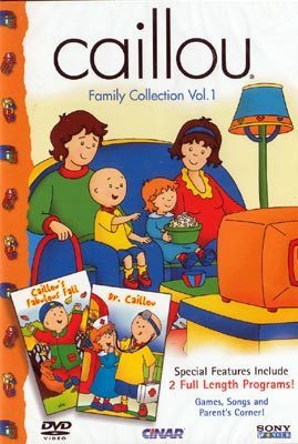The Caillou Family Collection Vol. 1