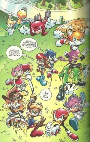 The Freedom Fighters & Chaotix