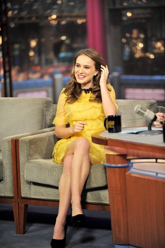 "The Late Show with David Letterman: 15th appearance, promoting ""Black Swan"""