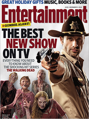 The Walking Dead- EW Cover