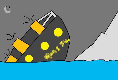 Titanic Sinks Alone