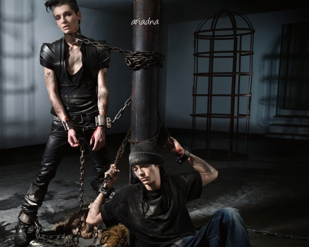 Tokio Hotel сотрудничают с PETA. Сильно.Спасибо.