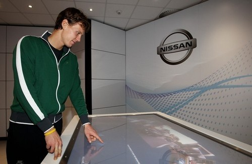 Tomas Berdych - Nissan Zone
