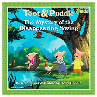Toot and Puddle: The Mystery of the Disappearing lung lay, swing