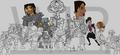 Total Drama: Origins colour-WIP - total-drama-island fan art