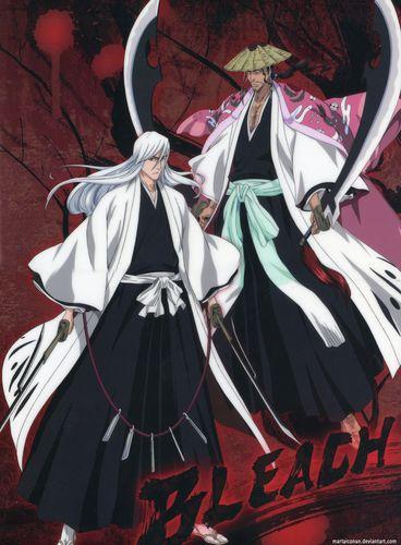 Ukitake and Kyoraku