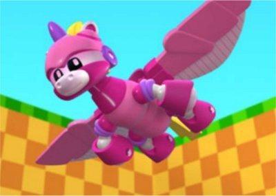 Unicorn Flying