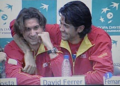 VERDASCO AND FERRER SEXY...